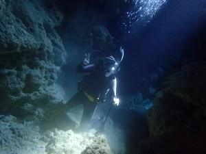 ダイビング瀬底島ラビリンス
