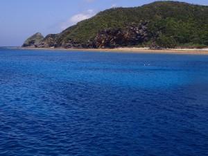 慶良間諸島サンドトライアングル