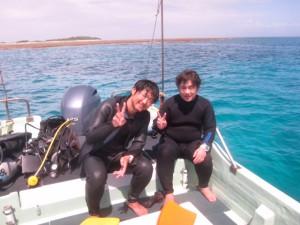 ダイビングチービシ諸島