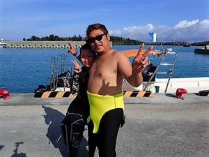 沖縄ダイビング万座