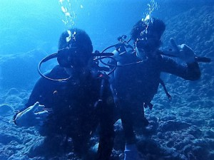 沖縄青の洞窟体験ダイビング