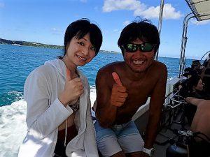 沖縄ダイビングジンベイザメツアー