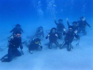 沖縄慶良間体験ダイビング