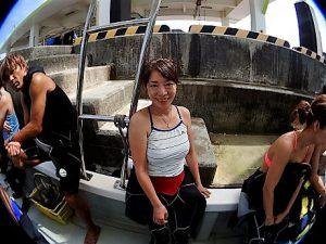 沖縄真栄田岬体験ダイビング