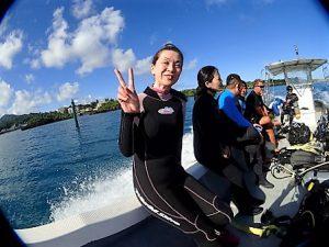 沖縄万座ダイビング