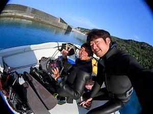 沖縄ダイビング辺戸岬